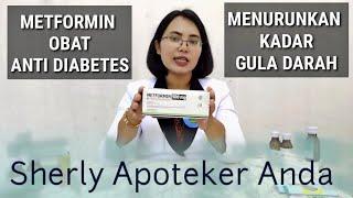 Metformin 500 Mg Obat Ampuh Untuk Diabetes Menurunkan Kadar Gula Darah Tinggi