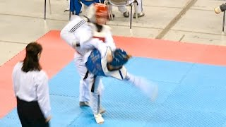 Elpida-Marina Dimitropoulou (Ελπίδα-Μαρίνα Δημητροπούλου) taekwondo 10-2 Ολ. Στάδιο Πάλης 26.11.2016