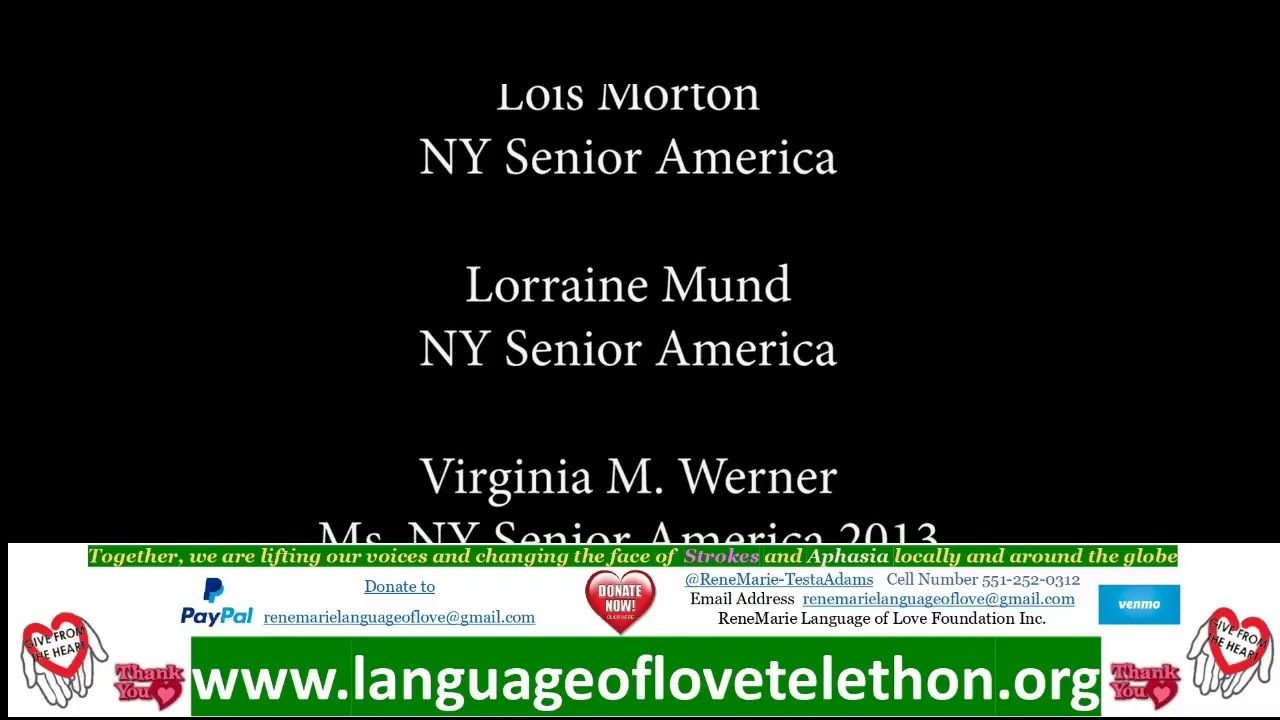 6th Annual Language of Love Telethon - Stroke and Aphasia Awareness LIVE from ROCKSTAR Studios