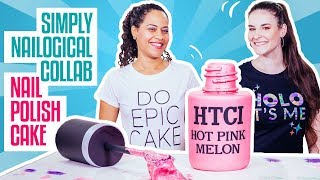 how-to-make-a-nail-polish-bottle-cake-with-simply-nailogical-pink-ombr-cake-and-a-shimmery-luster