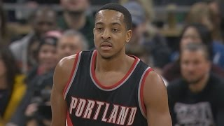 Cj mccollum career high 43 points! kris dunn and1 crossover! blazers vs timberwolves