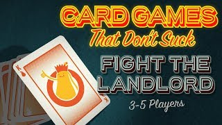 Fight the Landlord - Card Games That Don't Suck
