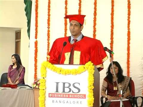 IBS Business School, Bangalore Convocation 2015 Part 7 of 8