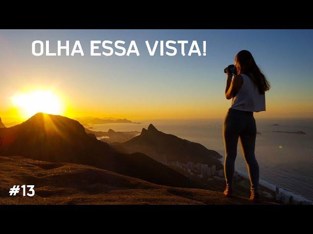 NASCER DO SOL NA PEDRA BONITA - Trilha noturna - Rio de Janeiro