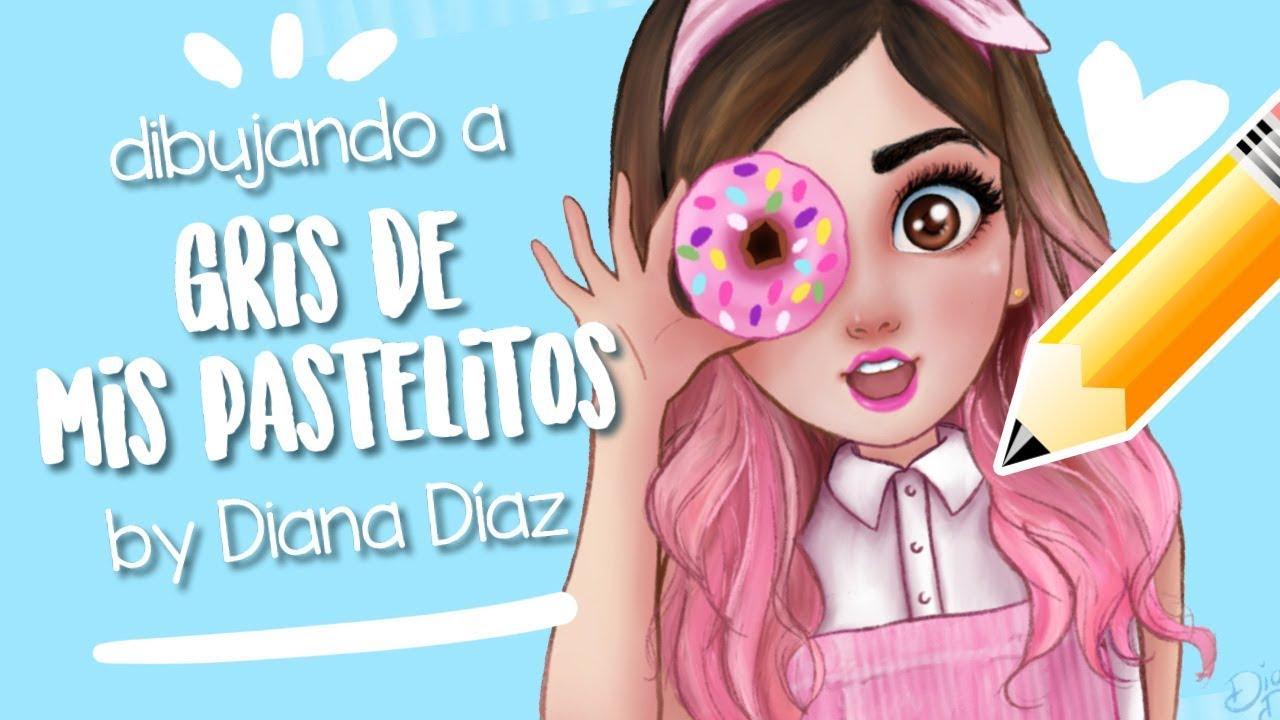 Dibujando A Gris Mis Pastelitos Mini Videos By Diana Díaz