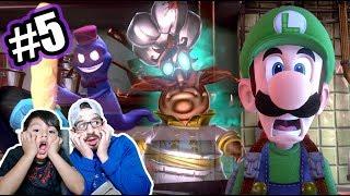 Cocinero Loco en Mansion de Luigi | Luigi's Mansion 3 Capitulo 5 | Juegos Karim Juega