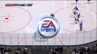 Nhl 11 xbox 360 Gameplay NYR v. NYI  1st Period