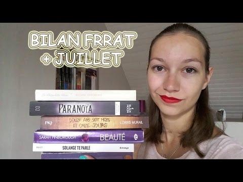 BILAN | JUILLET + FRENCH READ A THON