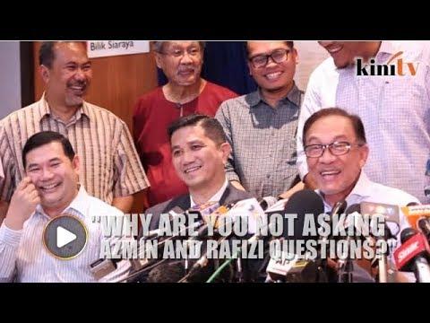 Anwar: No questions for Azmin or Rafizi?