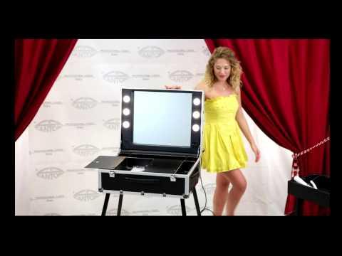 Table de Maquillage Pro Intérieur avec Ailettes en Aluminium - Cantoni Vidéo Guide