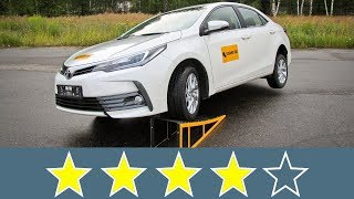Toyota Corolla 2017 Жесткость кузова
