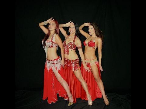 Los Angeles Belly Dance Troupe Belly Dolls Drum Battle