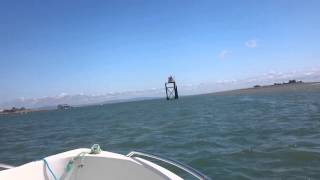 Barrow docks to piel island, Ryds 440 gt