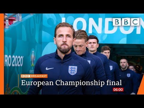 Euro 2020: Queen and Boris Johnson wish England well as final looms @BBC News live 🔴 BBC