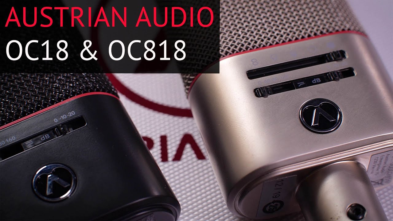 Very Clever, Great-Sounding: Hop Pole Studios Reviews Austrian Audio OC18 and OC818