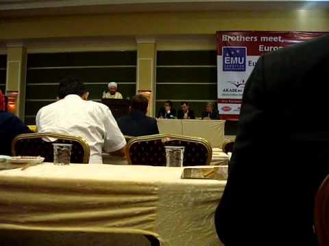 EMU Cyprus Meeting, 20-22 September 2013 (Mufti of South Cyprus's speech)