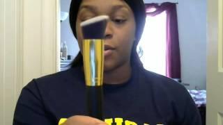 EBAY!! 10 x Professional Cosmetic Makeup Brushes Set Blusher Kabuki Tools Thumbnail