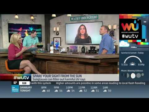 Weather Underground TV - Sunglasses for UV Protection