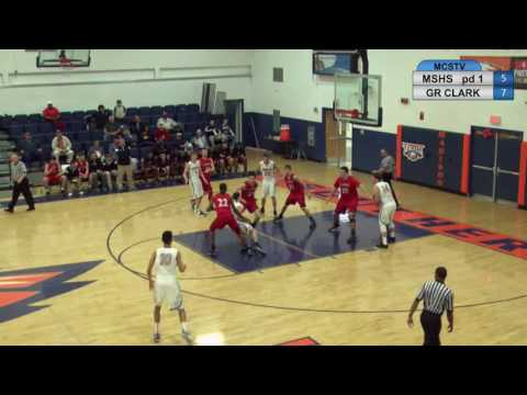 MSHS boys basketball vs George Rogers Clark 01-25-17