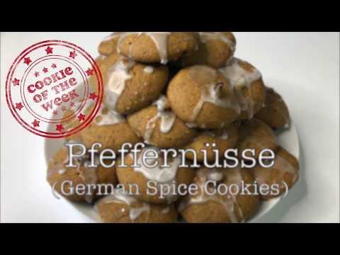 Pfeffernüsse - German spice cookies