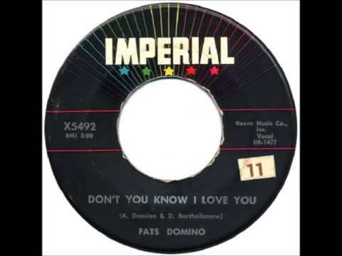 Fats Domino - Don't You Know I Love You - January 28, 1958