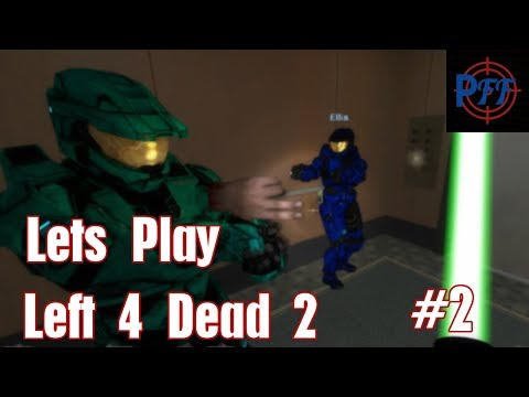 L4D2: Dead Center Part 2, Close encounters of the witch kind.