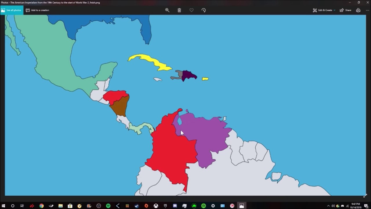 History American Imperialism Map Project by Shawn - YouTube