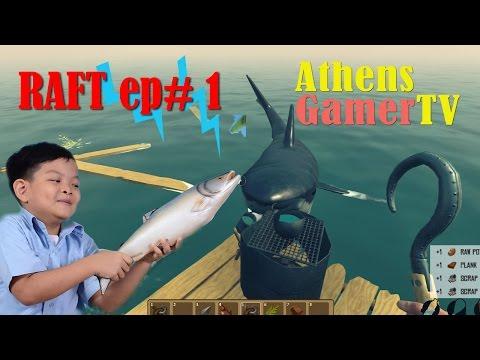 RAFT ep# 1 AthensGamerTV by Athens Thanakrit
