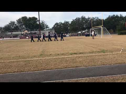 H B Plant High School AFJROTC Unarmed Drill Comp