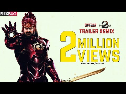 BAAHUBALI 2-THE CONCLUSION | REMIX TRAILER | IRONMAN vs CAPTAIN AMERICA VERSION | HINDI |