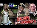 ESCAPE FROM GRANNY 2!! (GRANNY HORROR GAME in REAL LIFE) SECRET ROOM & LOCKED IN! HELLO NEIGHBOR!