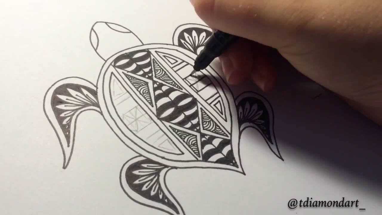 Samoan Turtle Tattoo Designs