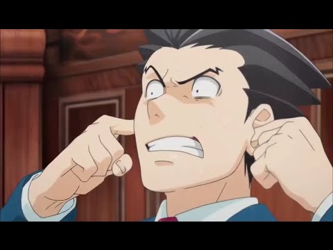 Ace Attorney Anime: Funniest Courtroom Scenes