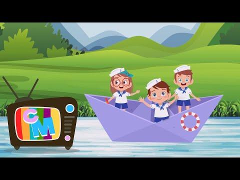 Cu barcuta pe lac  – Clopotelul Magic – cantece pentru copii – Cantece pentru copii in limba romana