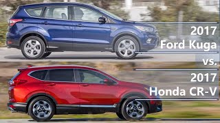 2017 Ford Kuga Vs 2017 Honda Cr-v  Technical Comparison