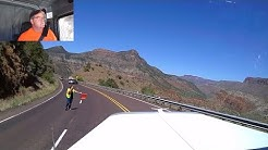 #148 Driving Through the Salt River Canyon in Arizona Hwy 60 The Life of an Owner Operator