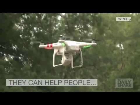 Could a 'flying gun' drone be the next dangerous weapon?