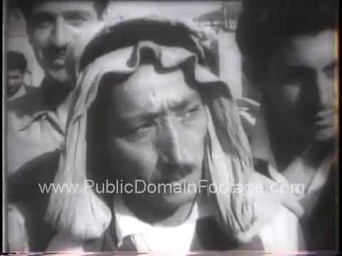 Elections during Lebanon Crisis 1958 archival footage PublicDomainFootage.com