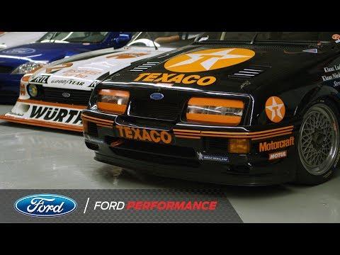 Vaughn Gittin Jr. Tours Cologne Ford Museum   Ford Performance