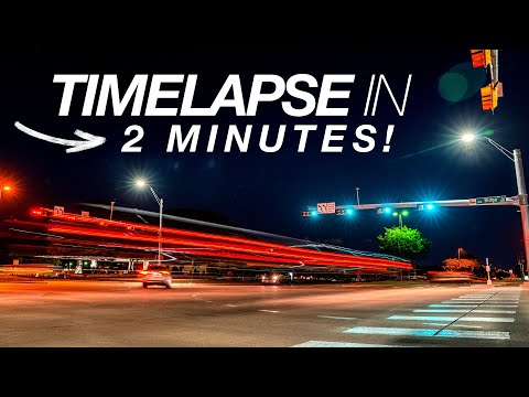 EASY TIMELAPSE TUTORIAL in 2 MINUTES! thumbnail
