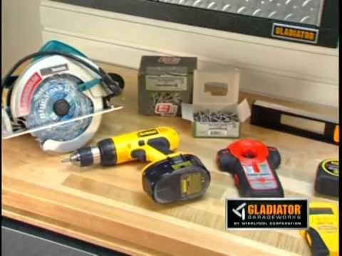 arredamento per garage gladiator whirlpool corp youtube