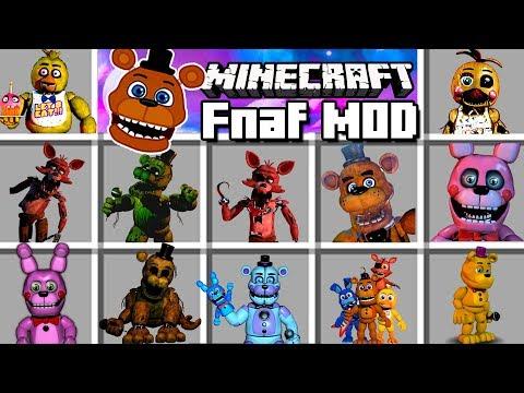 Minecraft - Five Nights At Freddy's MOD   Tus Peores Pesadillas!!
