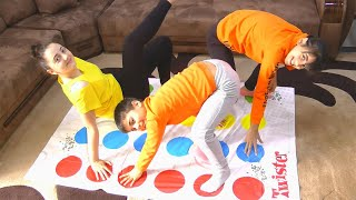 Guka Maria and Nastya play Twister toys for kids