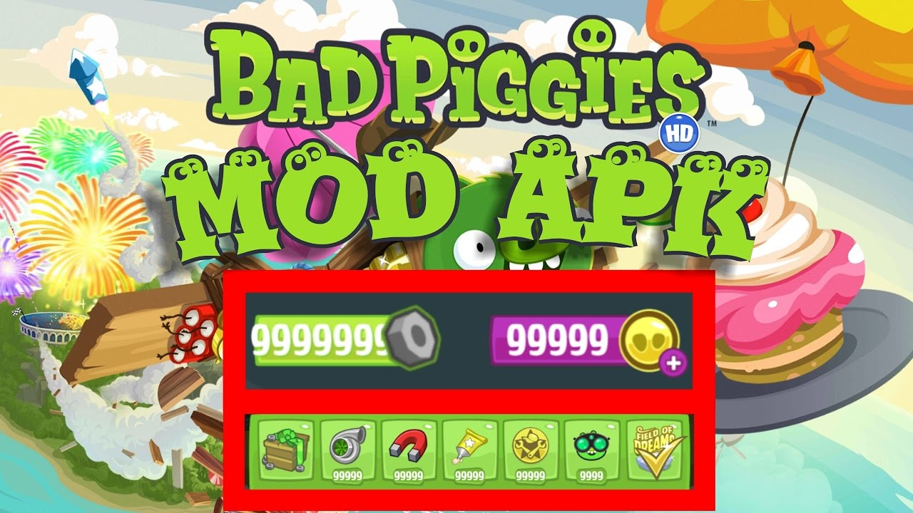 Bad Piggies HD v2.3.5 MEGA MOD APK Download