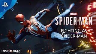 Fighting as Spider-Man - Inside Marvel's Spider-Man | PS4