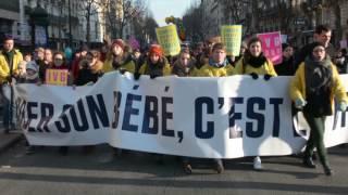 Marsch fürs Leben 2017, Paris