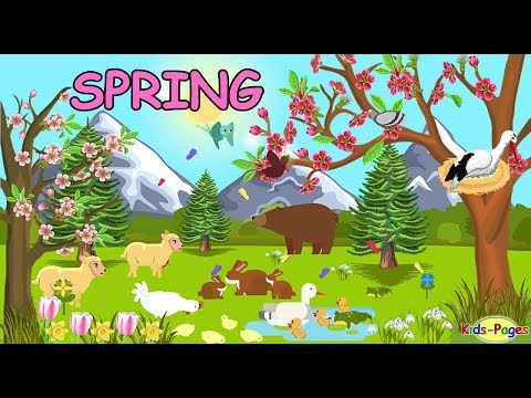 Spring - English Vocabulary
