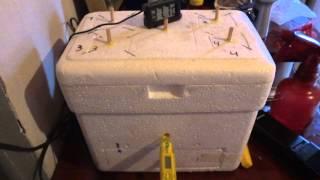 chocadeira caseira em caixa de isopor 3l