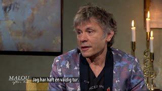"""Bruce Dickinson: """"Kabinpersonalen var förvånad över att jag svor"""" - Malou Efter tio (TV4)"""