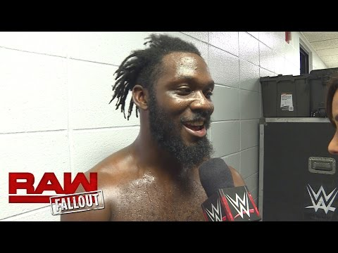 Rich Swann is focused on becoming WWE Cruiserweight Champion: Raw Fallout, Oct. 24, 2016